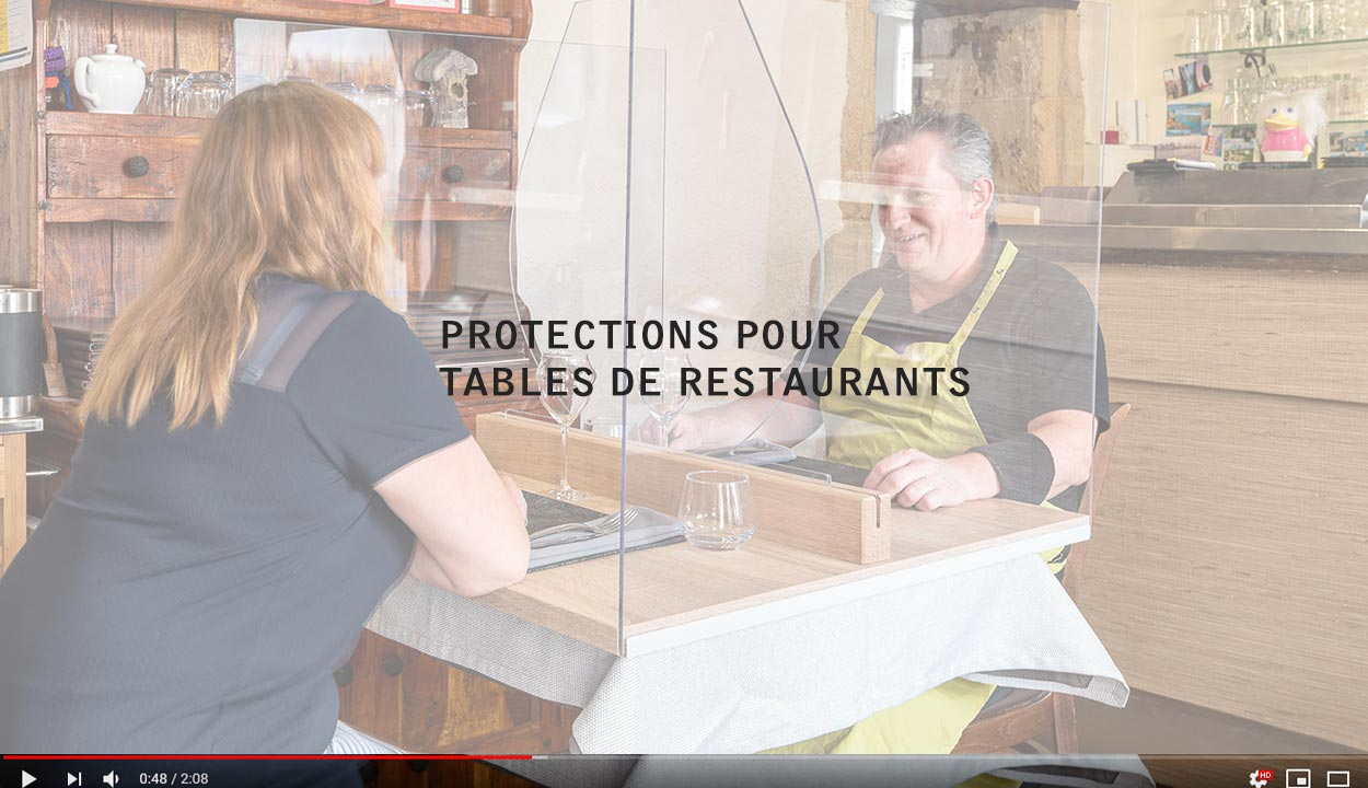 Video PROTECTIONS pour les RESTAURANTS