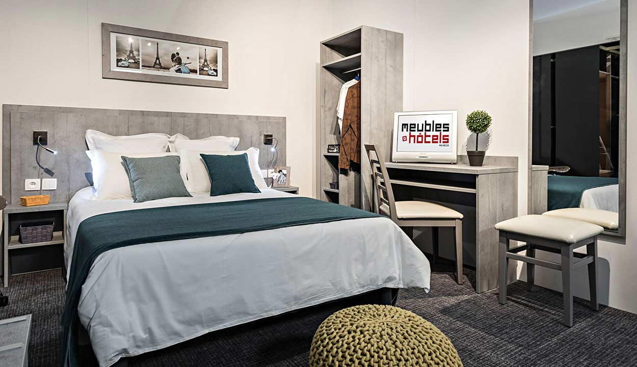 mobilier chambre hotellerie. Black Bedroom Furniture Sets. Home Design Ideas