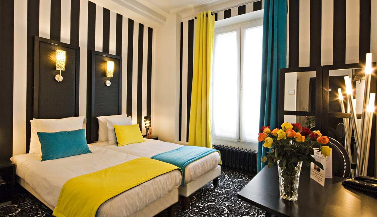 deco chambre hotel avec des id es int ressantes pour la conception de la chambre. Black Bedroom Furniture Sets. Home Design Ideas